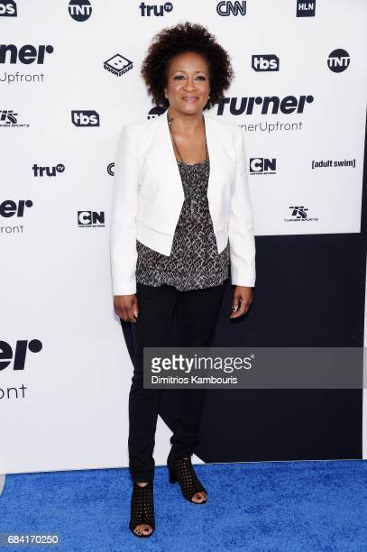 Wanda Sykes attends the Turner Upfront 2017 arrivals on the red carpet at The Theater at Madison Square Garden on May 17 2017 in New York City...