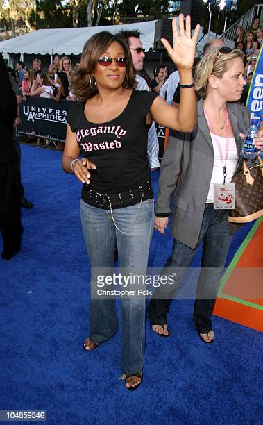 Wanda Sykes during 2003 Teen Choice Awards Arrivals at Universal AmphiTheater in Universal City California United States