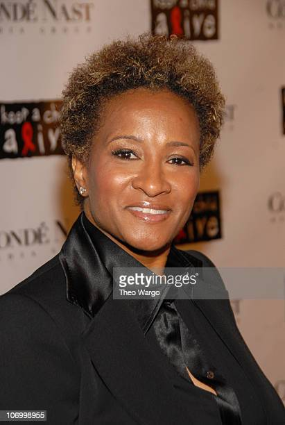 Wanda Sykes during Conde Nast Media Group Presents 'The Black Ball' to Benefit Keep A Child Alive Hosted by Alicia Keys and Iman Red Carpet at...