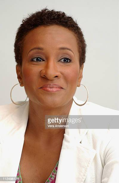 Wanda Sykes during MonsterinLaw Press Conference with Jennifer Lopez Jane Fonda Michael Vartan and Wanda Sykes at Four Season Hotel in Beverly Hills...