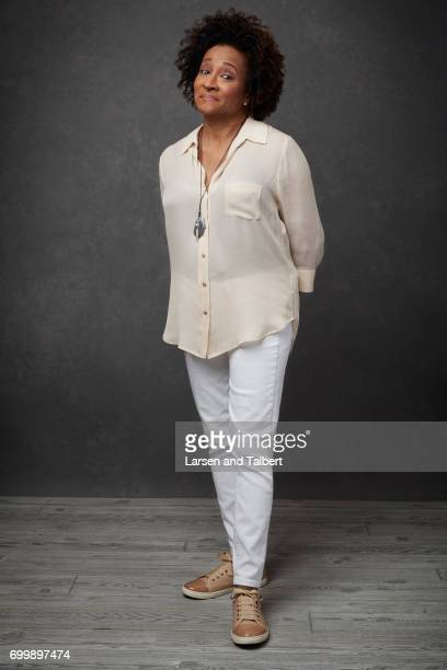 Wanda Sykes of 'Talk Show the Game Show' is photographed for Entertainment Weekly Magazine on June 10 2017 in Austin Texas