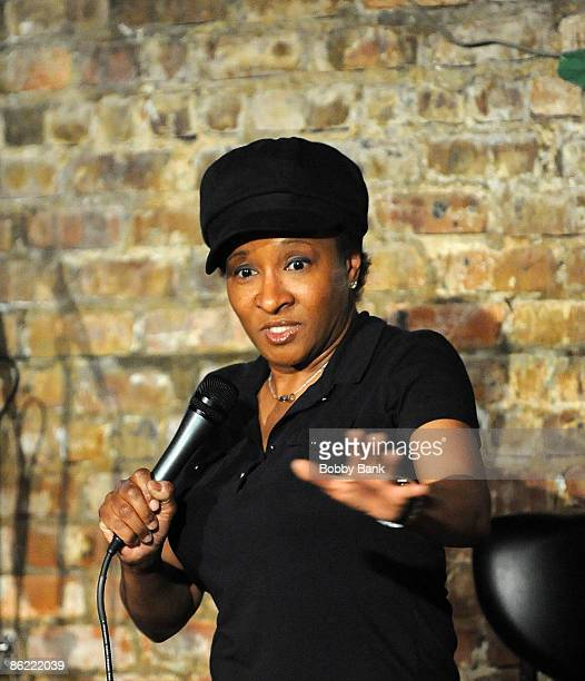 Wanda Sykes performs at the Stress Factory on April 25, 2009 in New Brunswick, New Jersey.
