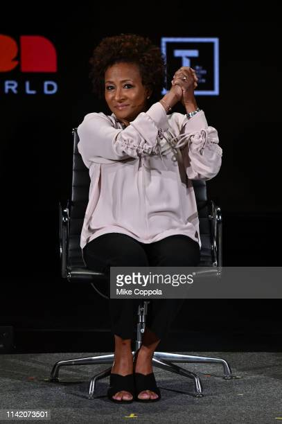 Wanda Sykes speaks onstage at the 10th Anniversary Women In The World Summit Day 2 at David H Koch Theater at Lincoln Center on April 11 2019 in New...