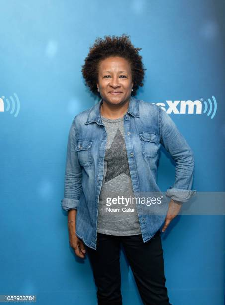 Wanda Sykes visits 'Andy Cohen Live' at the SiriusXM Studios on October 24 2018 in New York City