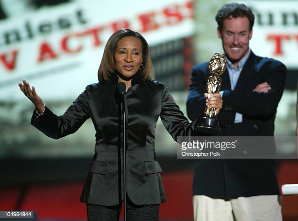 Wanda Sykes winner of Funniest TV Actress with presenter John C McGinley