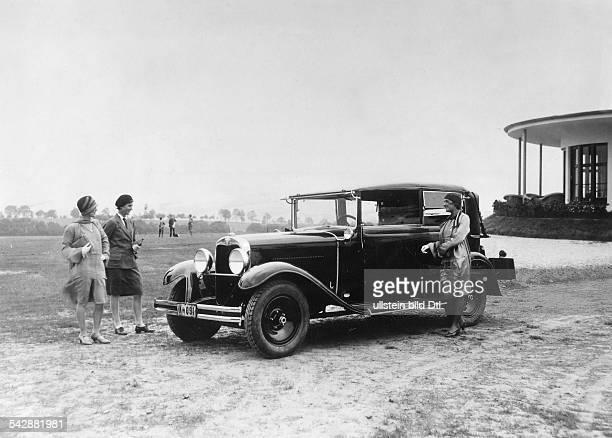 Wanderer 2 1/2 Liter Sechszylinder aufeiner Pariser Autoausstellung 1929