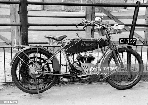 Wanderer motorcycle. Creator: Unknown.