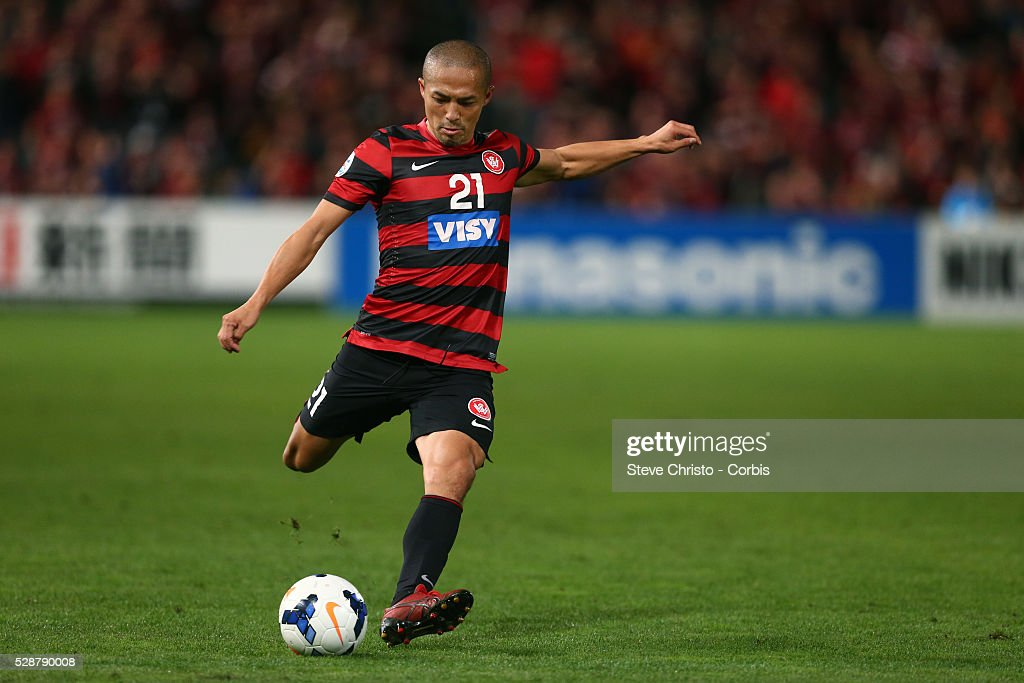 Soccer - ACL - Western Sydney Wanderers Vs. Sanfrecce Hiroshima - Knock out Stage : News Photo