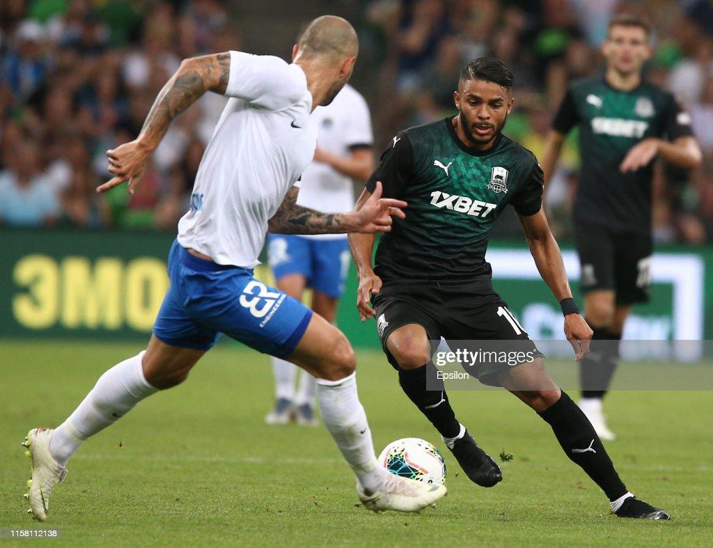 Wanderson Of Fc Krasnodar Vie For The Ball With Fyodor Kudryashov Of News Photo Getty Images