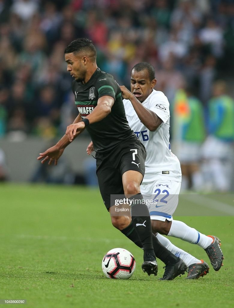 Wanderson Of Fc Krasnodar Vies For The Ball With Joaozinho Of Fc News Photo Getty Images