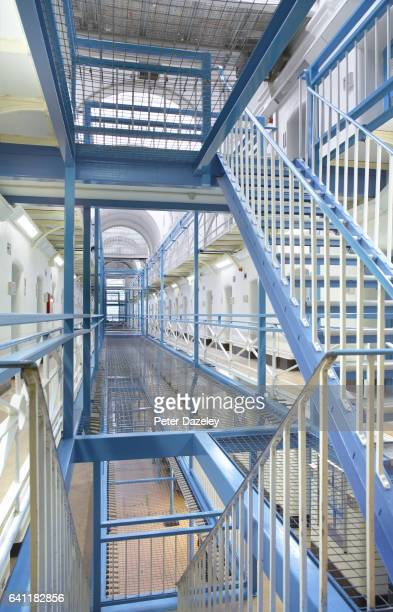 Wandsworth Prison A wing landing on February 7 2017 in WandsworthLondonEngland