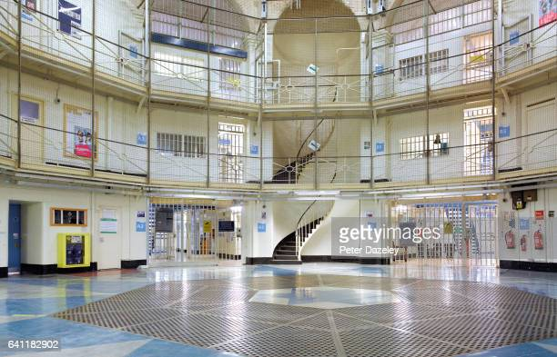 Wandsworth Prison central rotunda on February 7 2017 in WandsworthLondonEngland