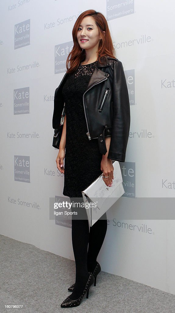 Wang Bit-Na attends the 'Kate Somerville' Launch Event at Park Hyatt Seoul on February 5, 2013 in Seoul, South Korea.