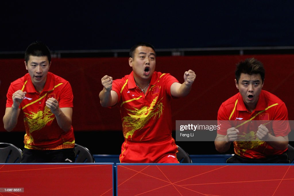 Olympics Day 8 - Table Tennis : News Photo
