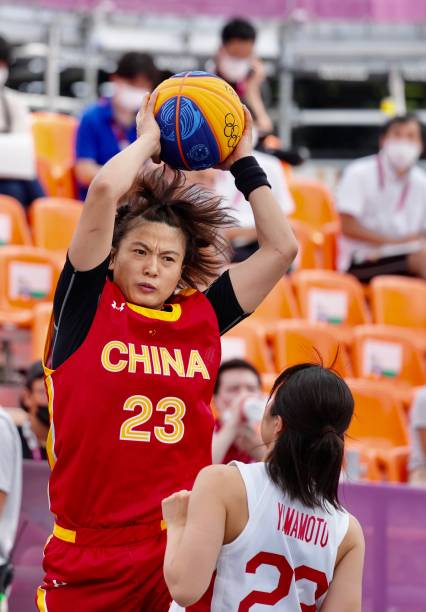 JPN: 3×3 Basketball - Tokyo 2020 Olympics - Day 3