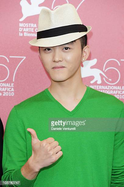 Wang Nan attends the Showtime photocall at the Palazzo del Casino during the 67th International Venice Film Festival on September 22010 in Venice...