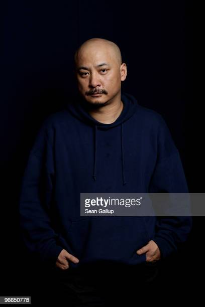 """Wang Quan'an, director of """"Tuan Yuan,"""" poses during a portait session at the 60th Berlinale International Film Festival on February 13, 2010 in..."""