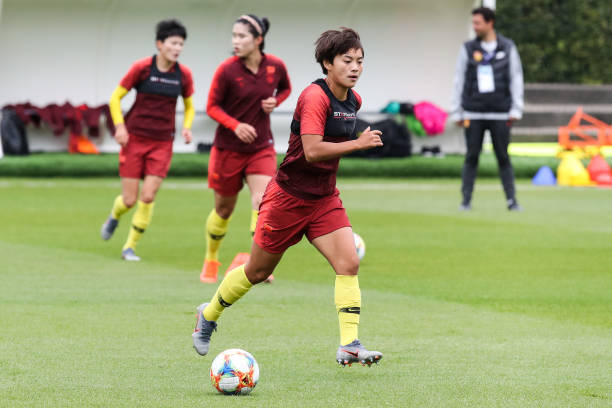 FRA: China Training - 2019 FIFA Women's World Cup France