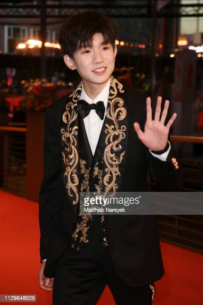 Wang Yuan attends the 'So Long My Son' premiere during the 69th Berlinale International Film Festival Berlin at Berlinale Palace on February 14 2019...