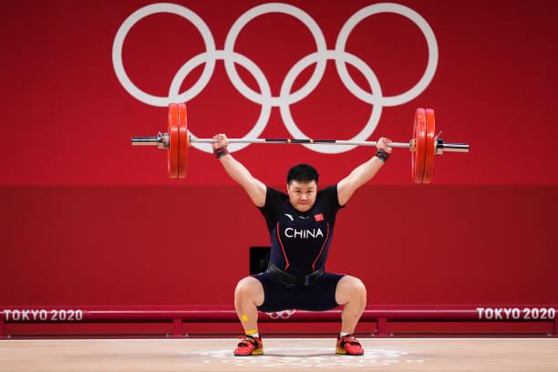 JPN: Weightlifting - Tokyo 2020 Olympics - Day 10