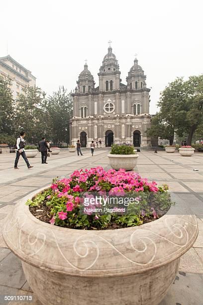 Wangfujing Catholic Church or also called Catholic East Church is the biggest Catholic Church in Beijing.