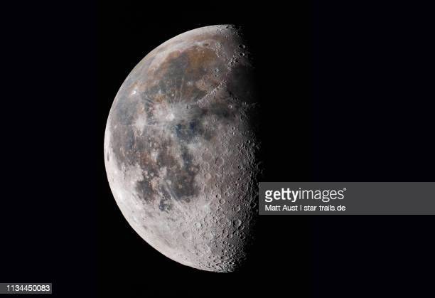 waning moon - moon stock pictures, royalty-free photos & images
