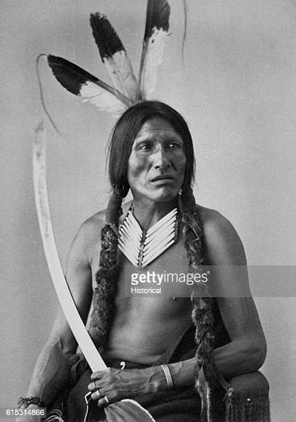 WankanYaKea a man of the Hunkpapa Sioux whose name means 'Lost Medicine'
