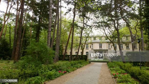 conferência de wannsee casa berlim - 1942 - fotografias e filmes do acervo