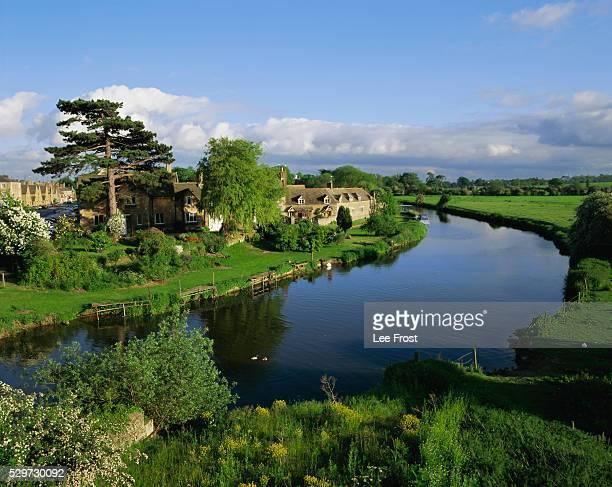 Wansford-in-England, River Nene, near Peterborough, Cambridgeshire, England, UK, Europe