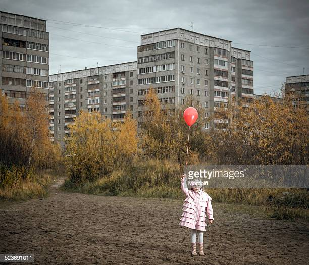 I want fly away on red balloon