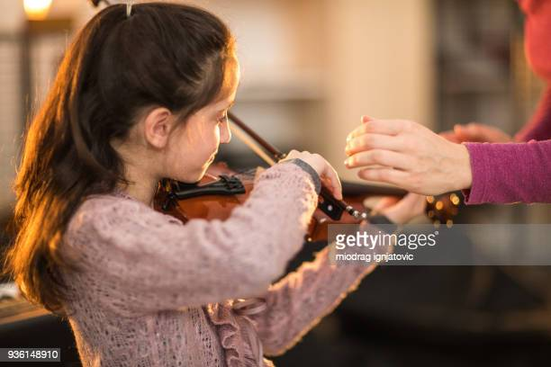 I want to be the best violinist