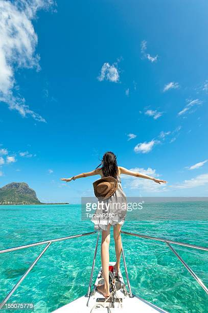 i want to fly - insel mauritius stock-fotos und bilder