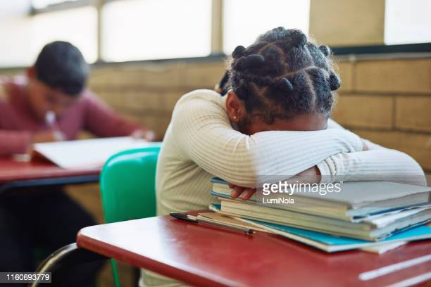 i want to go home - schoolgirl stock pictures, royalty-free photos & images