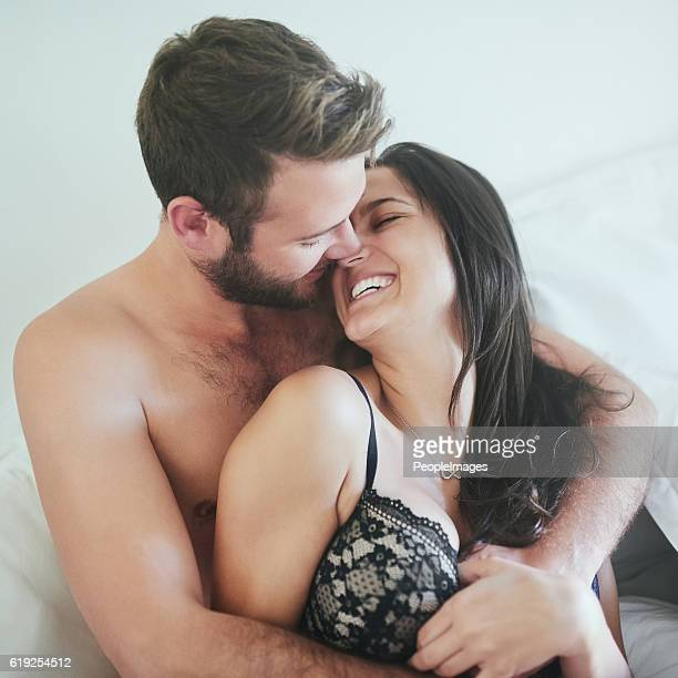 i want to grow old with you - couple and kiss and bedroom stock photos and pictures