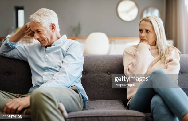 i want to talk but i don't know how - mature couple stock pictures, royalty-free photos & images