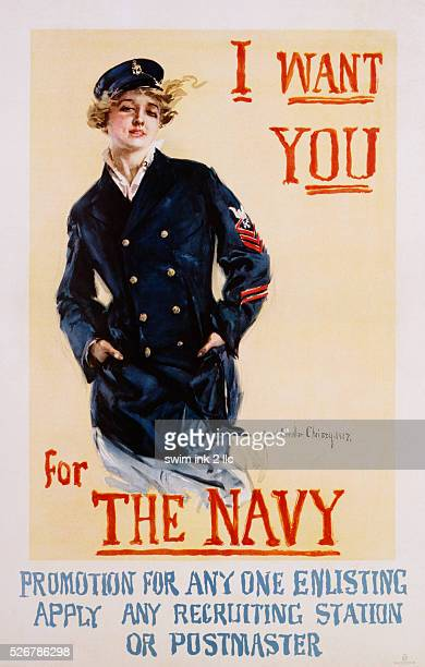 I Want You for the Navy Poster by Howard Chandler Christy