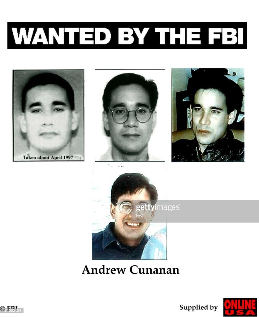 Wanted By The FBI: Andrew Cunanan : News Photo