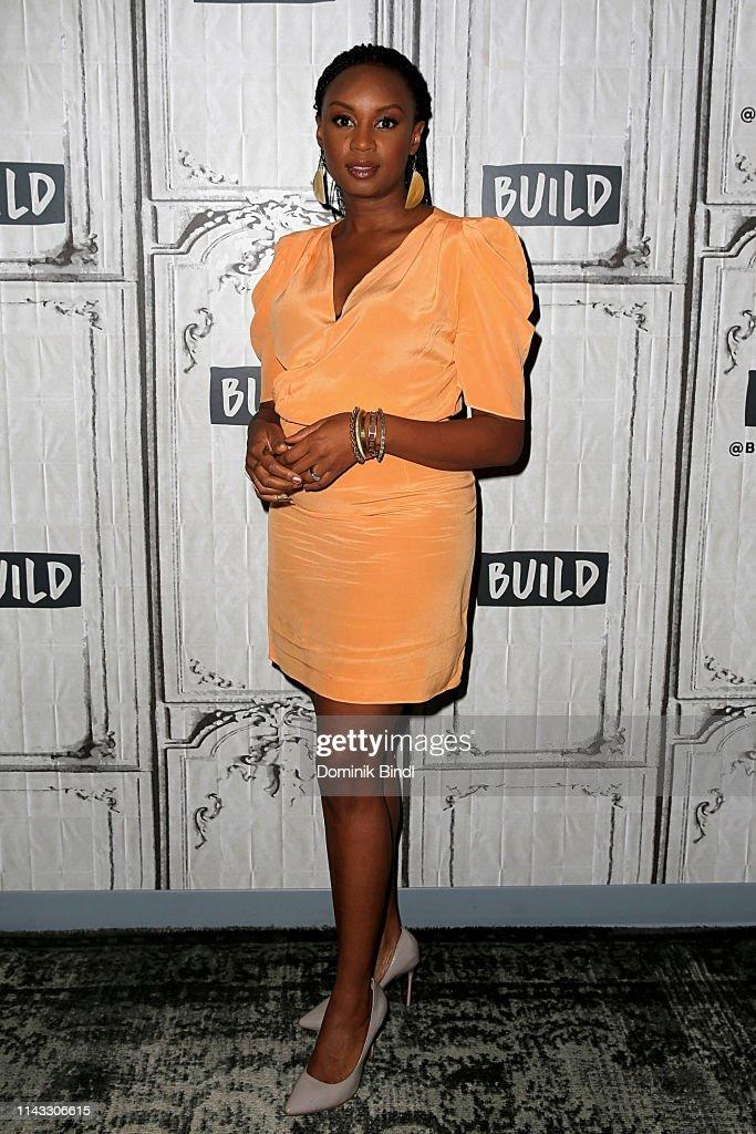 NY: Celebrities Visit Build - April 17, 2019