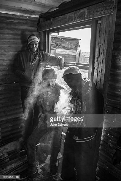 Waqa and two friends hang out at a local rappers house and pass the time smoking dagga out of a broken glass bottle top. While Spaza hip-hop music is...