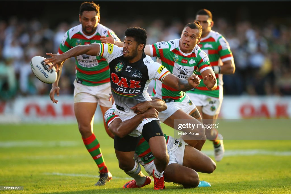 NRL Rd 2 - Panthers v Rabbitohs