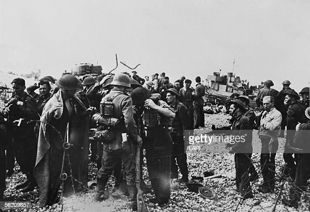 War 19391945 British prisoners Raid on Dieppe of August 19 1942