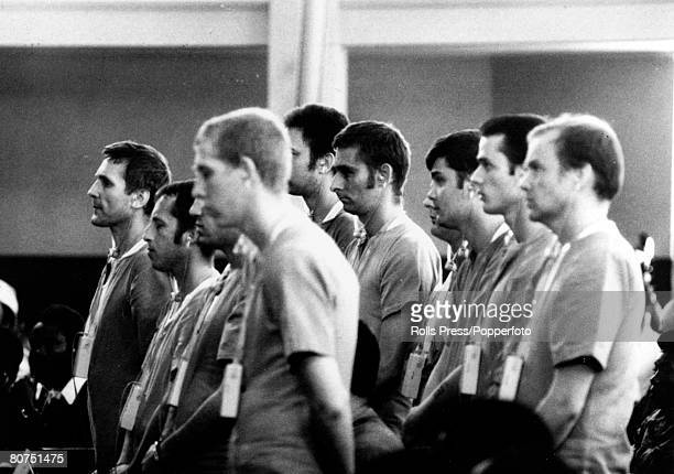 June 1976 Luanda Some of the accused icluding Costas Georgiou at the show trial where 13 mercanaries 10 of them British were being tried