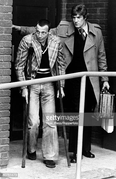 October 1976 A British mercenary after arriving from Angola via Brussels