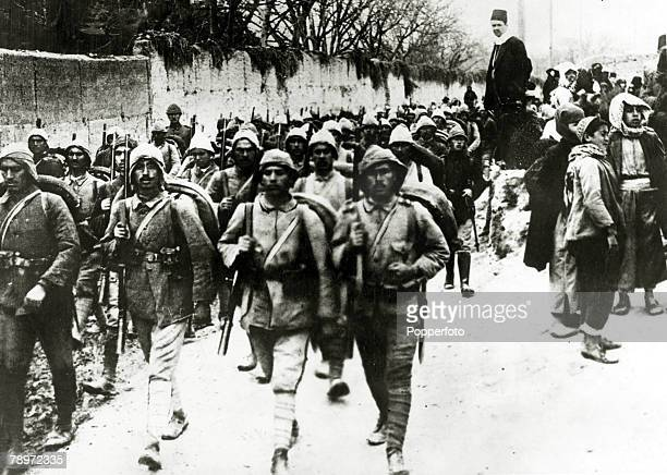 War and Conflict GreeceTurkey War 19211922 pic 1922 A contingent of the Turkish army on the march The war started when Greece attempted to extend...