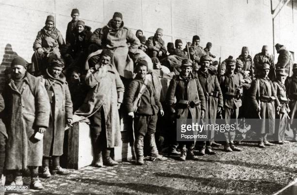 War and Conflict GreeceTurkey War 19211922 Turkish prisoners guarded by Greek troops at Mitylene The war started when Greece attempted to extend...