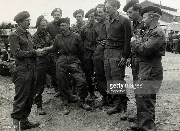 May 1951 Korean War Captain MGHarvey who led the only company of the 1st Battalion of the Gloucestershire regiment out of a Chinese trap north of the...
