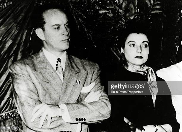 War and Conflict Politics Coups/Guatemala pic circa 1950 President Jacobo Arbenz pictured with his wife President Arbenz was removed as Guatemala's...
