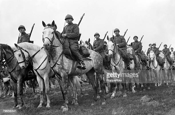 20th April 1939 Polish cavalry on the East Prussian border