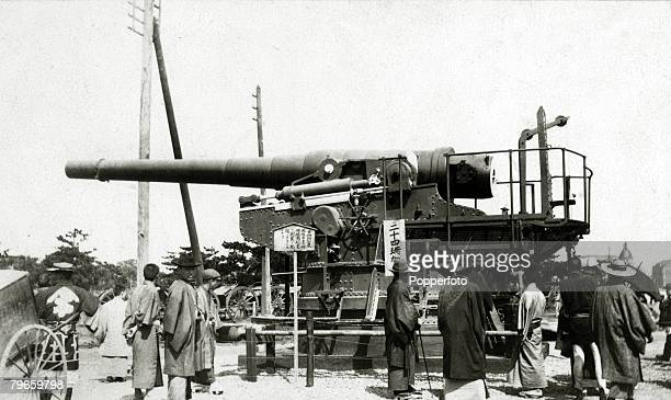 War and Conflict RussoJapanese War 19041905 Russian gun captured by the Japanese on exhibition in Tokyo The war between Russia and Japan arose over...
