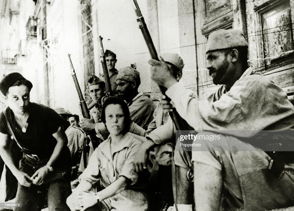 War and conflict spanish civil war 1936 1939 pic 13th august war and conflict spanish civil war 1936 1939 pic 13th august 1937 17 year old anita royo from morocco the only woman fighting with the rebel forces on altavistaventures Images